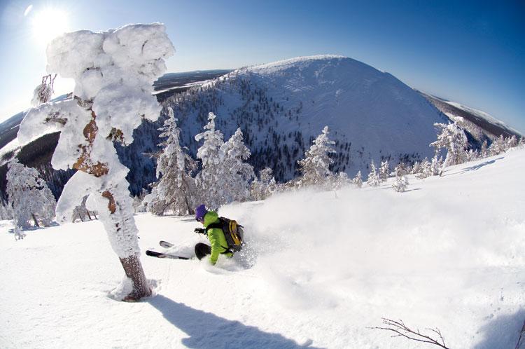 Laponia esquiar Levi