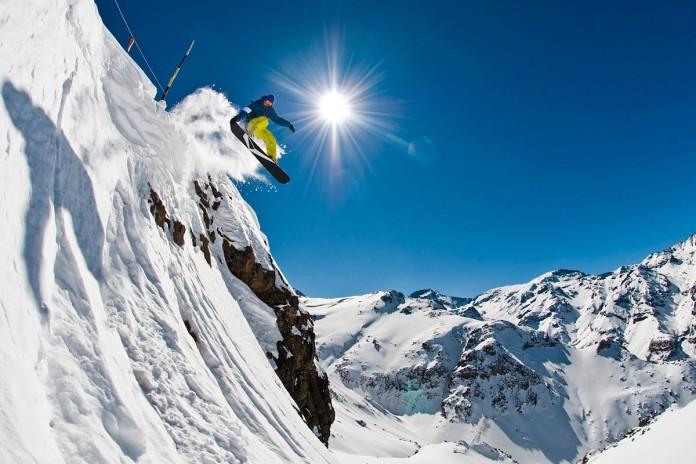 Valle Nevado esquí en los Andes