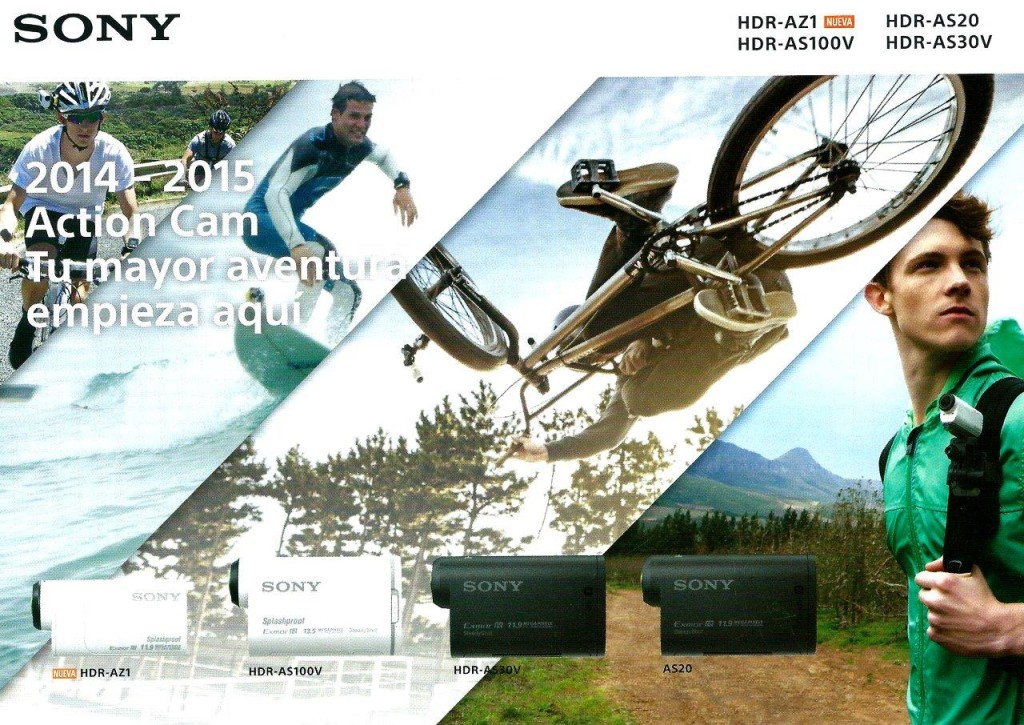 ACTION CAM SONY web