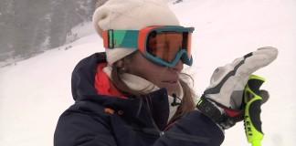 Carolina Ruiz pista Àliga descenso Grandvalira