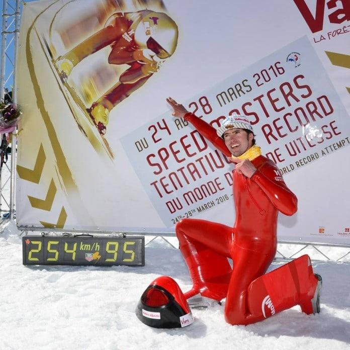 Ivan Orioge récord esquí de velocidad