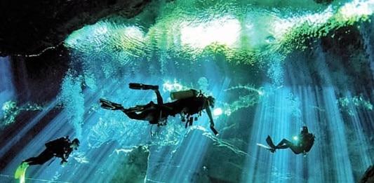 bucear en un cenote Yucatan