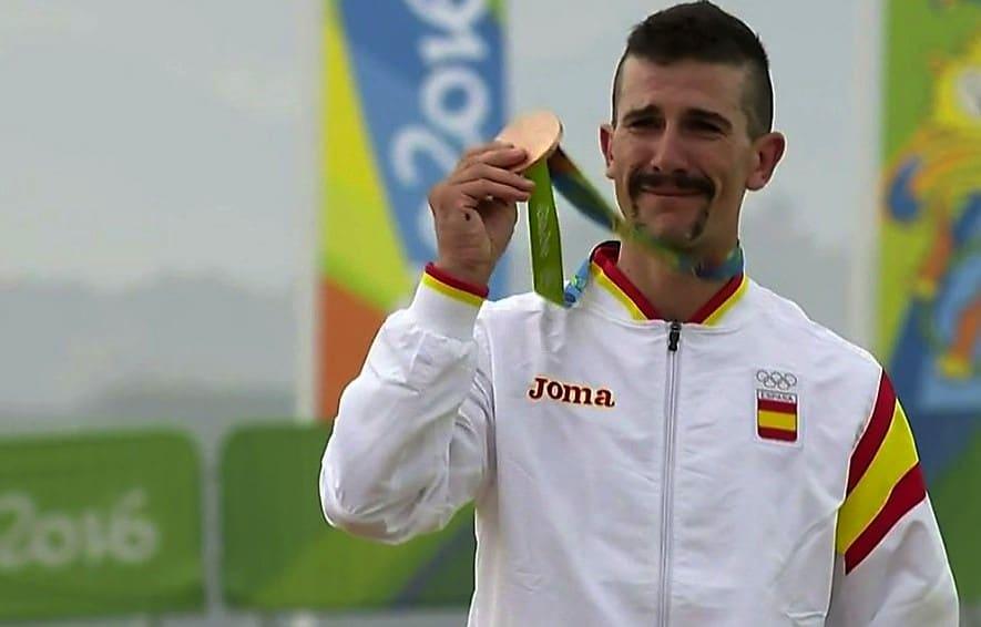 Carlos Coloma bronce Rio 2016