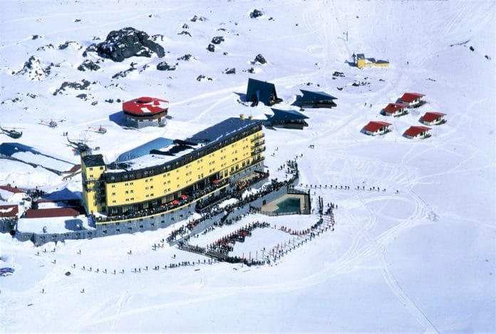 Mundial esquí Portillo Chile
