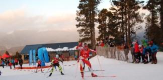 esquí se fondo