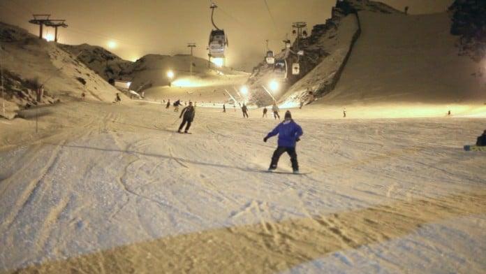 Mundial de snowboard y freestyle ski