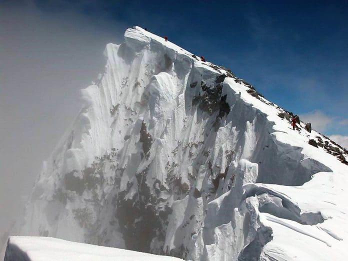 Òscar Cadiach Broad Peak sin óxigeno