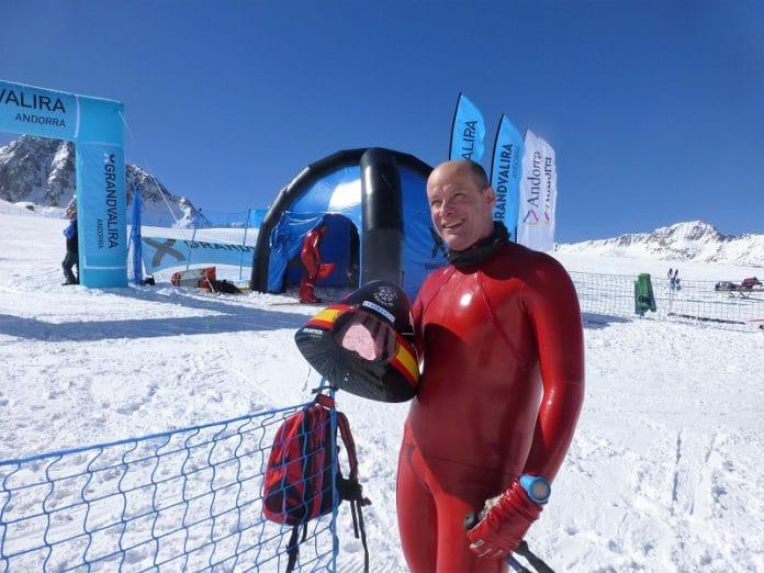 Ricardo Adarraga esquí velocidad