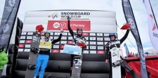 Lucas Eguibar Copa del Mundo de snowboardercross