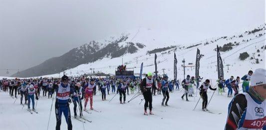 Marxa Beret esqui de fondo