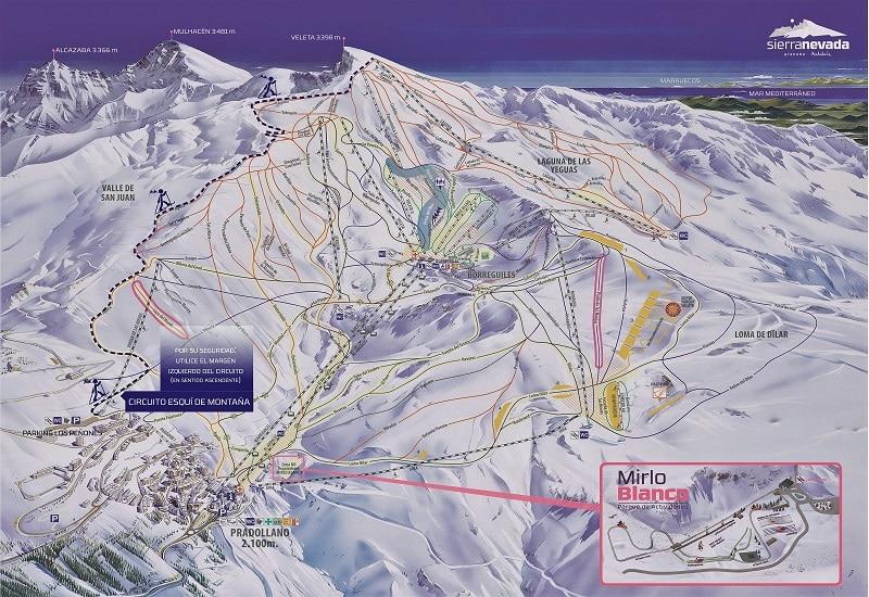 Sierra Nevada esquí de montaña
