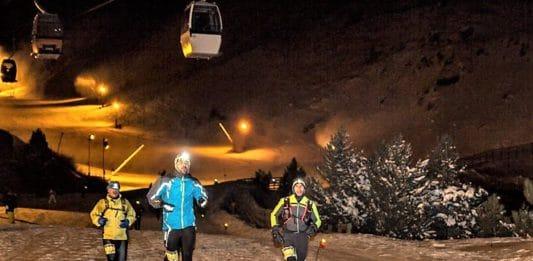 snowrunning en Sierra Nevada