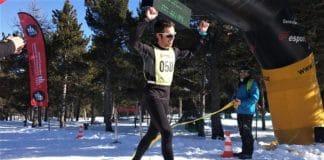 campeones de Europa de raquetas de nieve