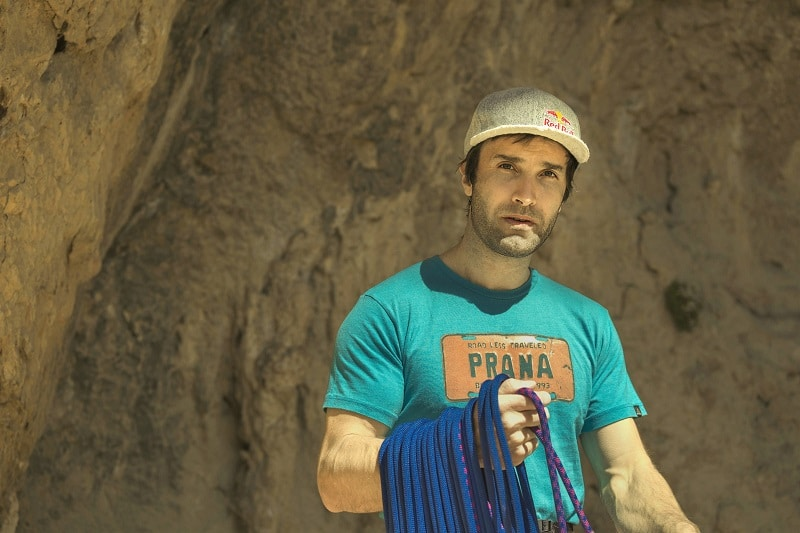 Chris Sharma escalador