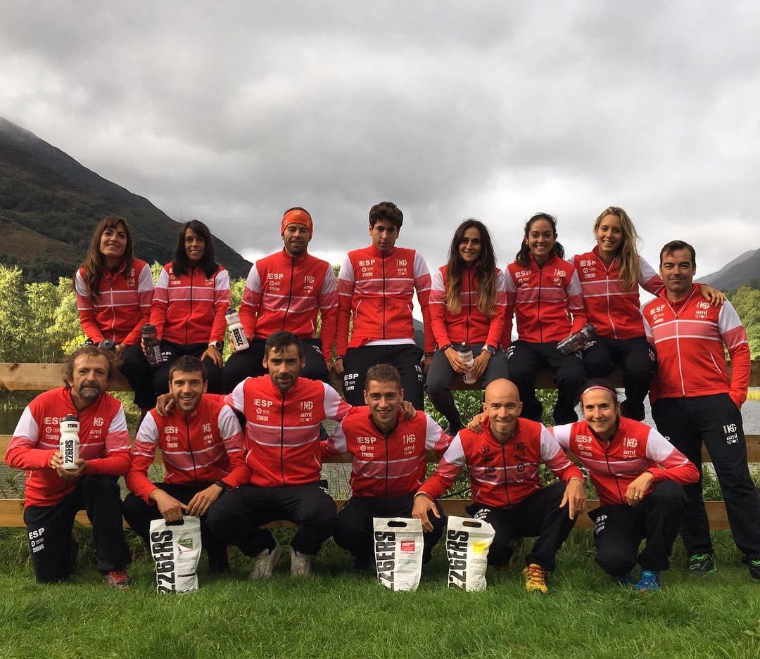 Selección española FEDME