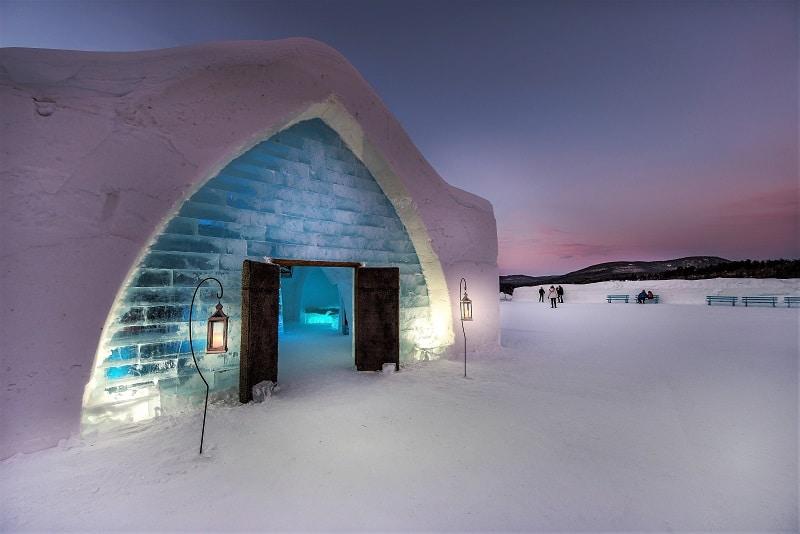 hotel iglú hotel hielo