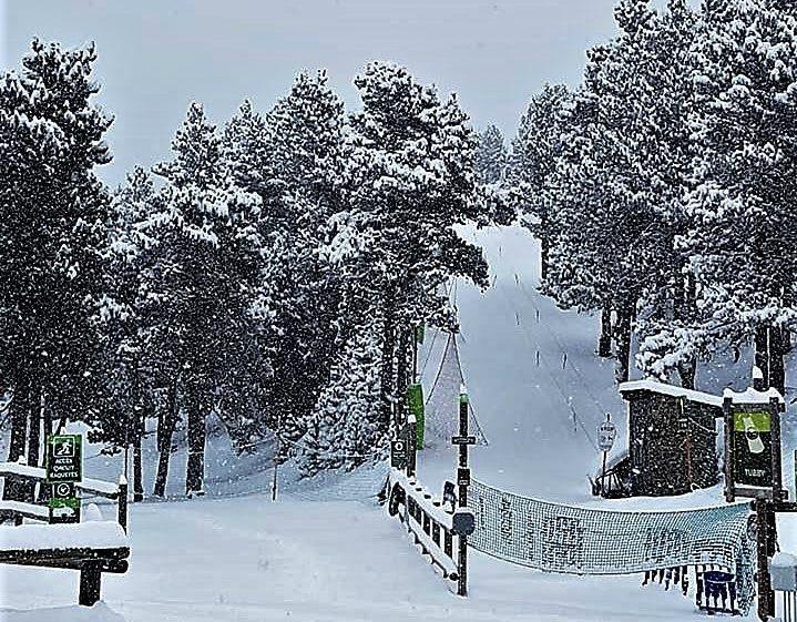 esquí nórdico Pirineo La Rabassa