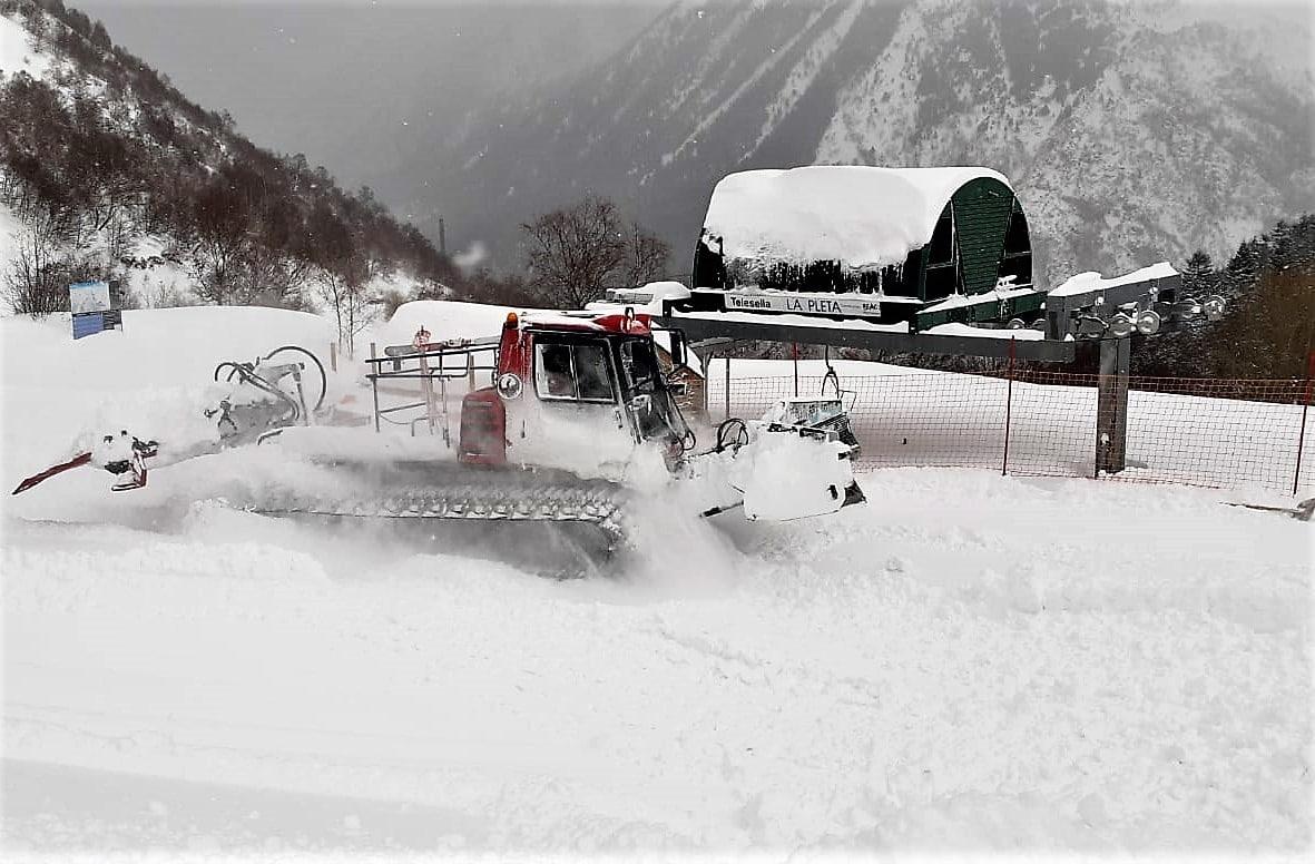 esquí nórdico Pirineo Tavascan