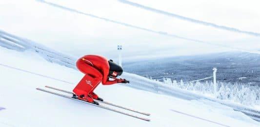 Manuel Kramer Copa del Mundo esquí de velocidad
