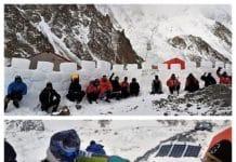 Alex Txikon K2 muralla