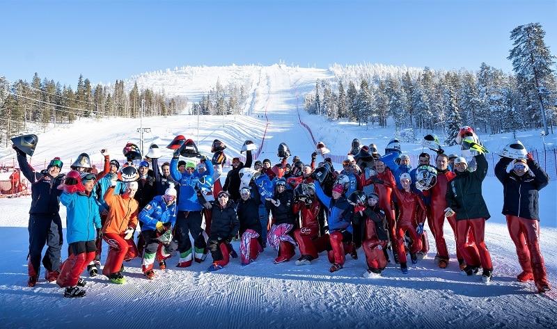 Salla Copa del Mundo esquí de velocidad