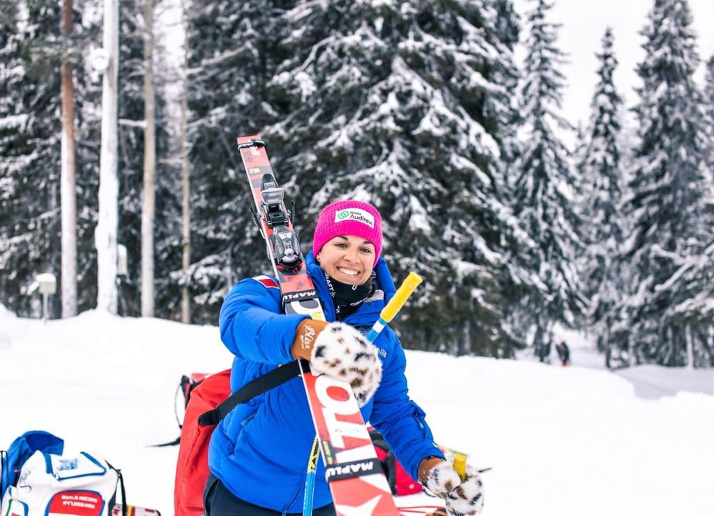 Valentina Greggio Copa del Mundo de esquí de velocidad