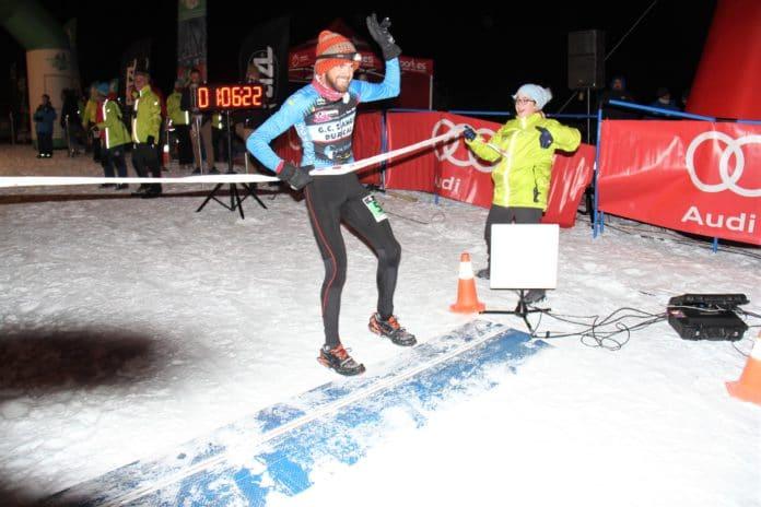 Jacob Gutiérrez y Silvia Lara, campeonato de España de snowrunning