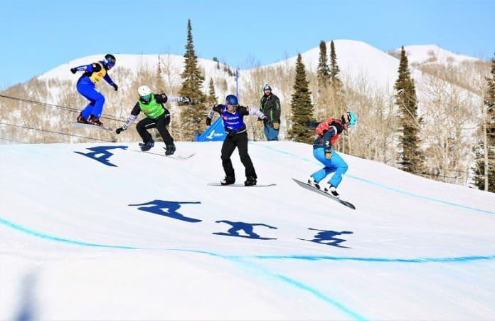 Lucas Eguibar snowboardcross