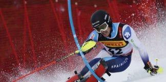 Juan del Campo slalom Are