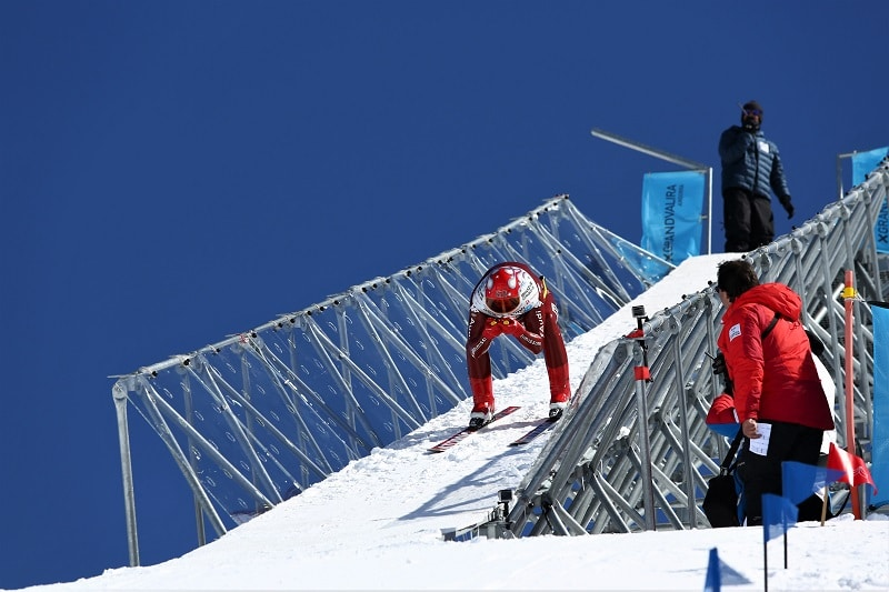 Grandvalira esquí de velocidad