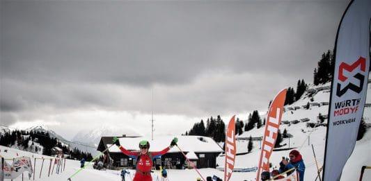 Clàudia Galicia Campeonato del Mundo de esquí de montaña