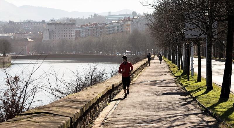 running San Sebastian
