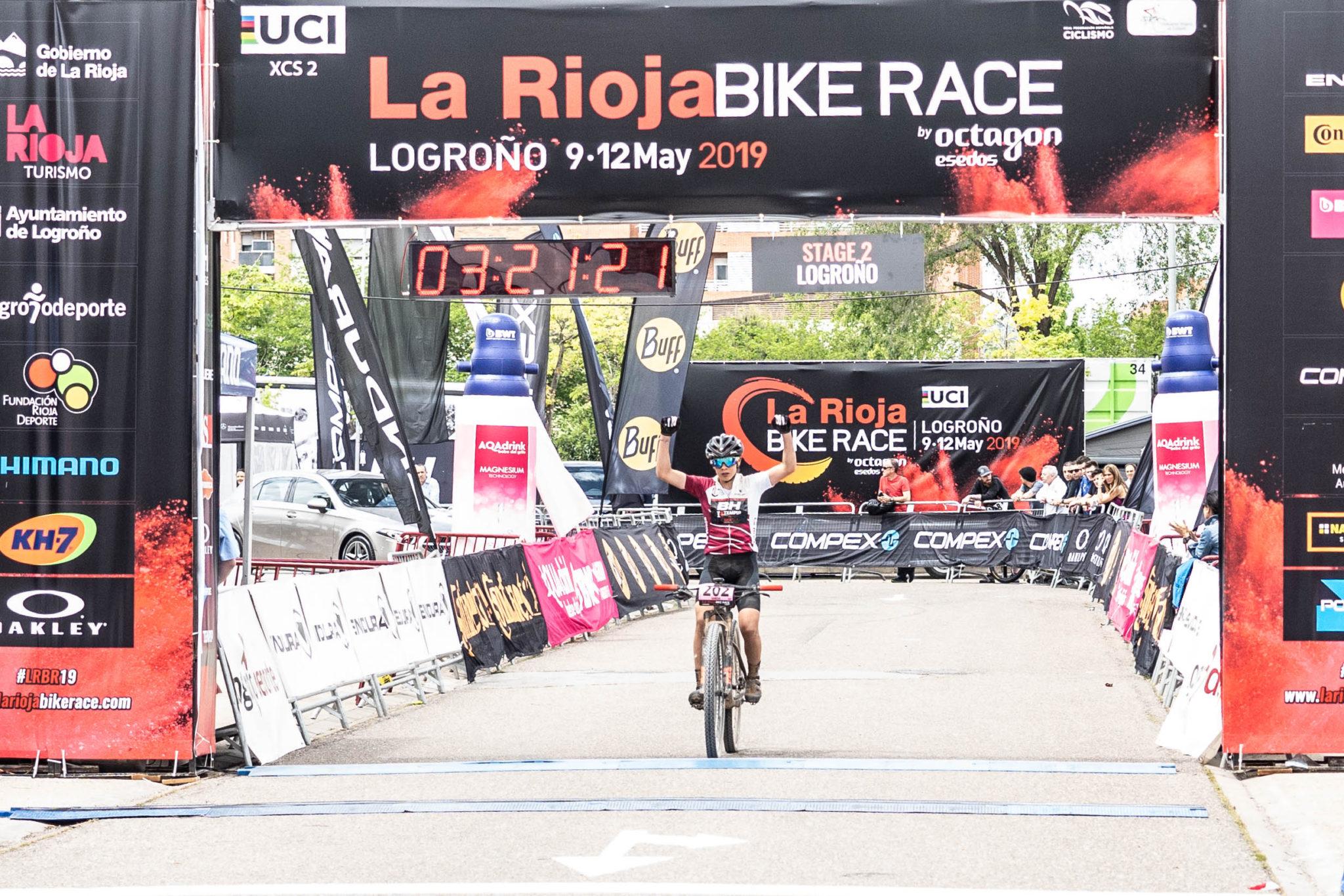 Rocío del Alba García La Rioja Bike Race