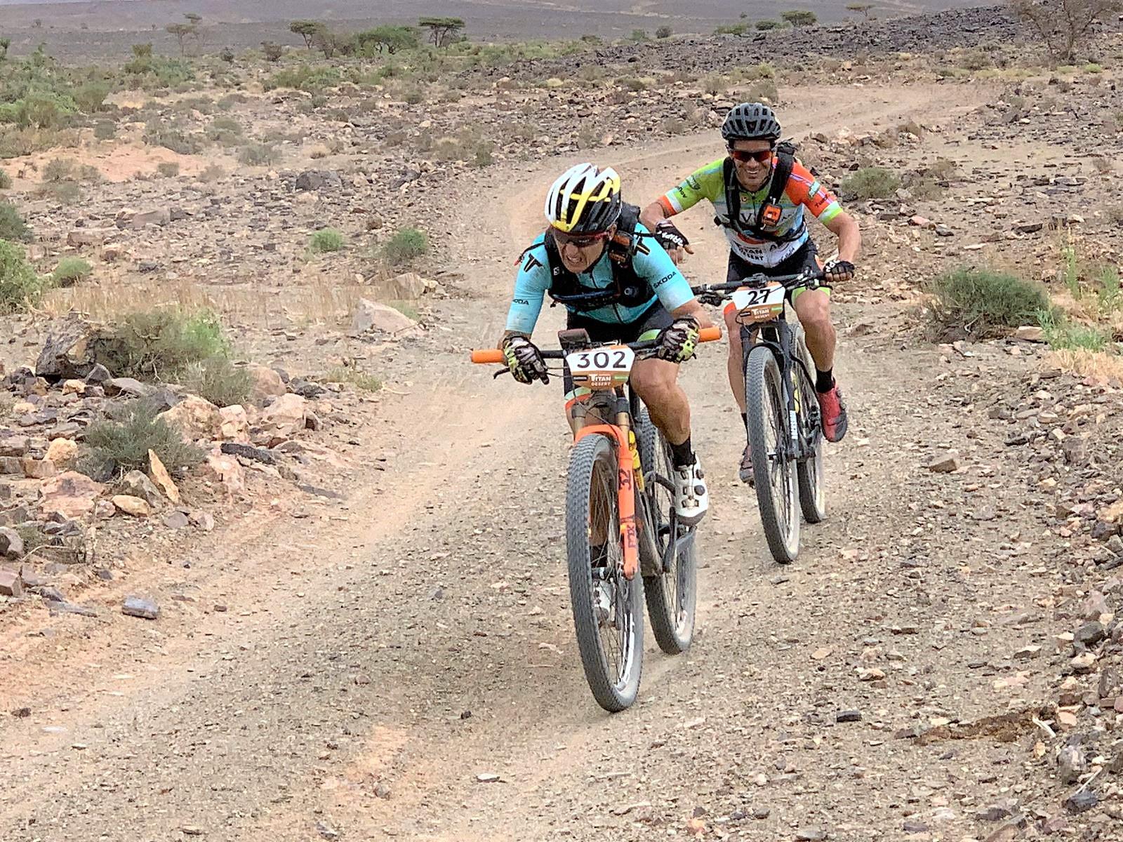 Anna Ramirez Garmin Titan Desert