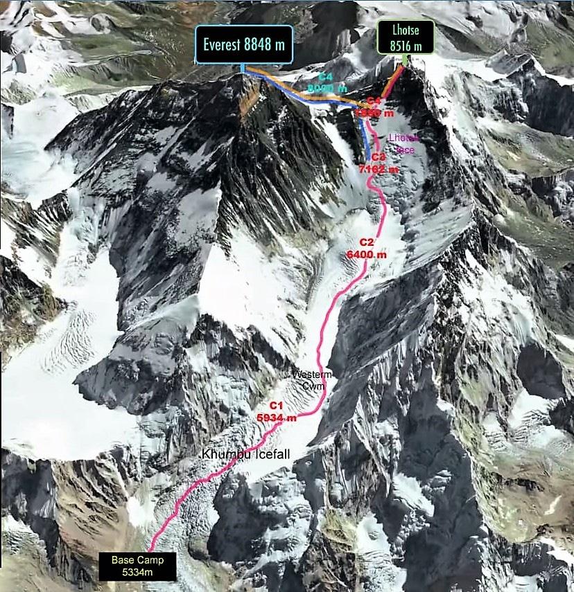Sergi Mingote Everest Lothse