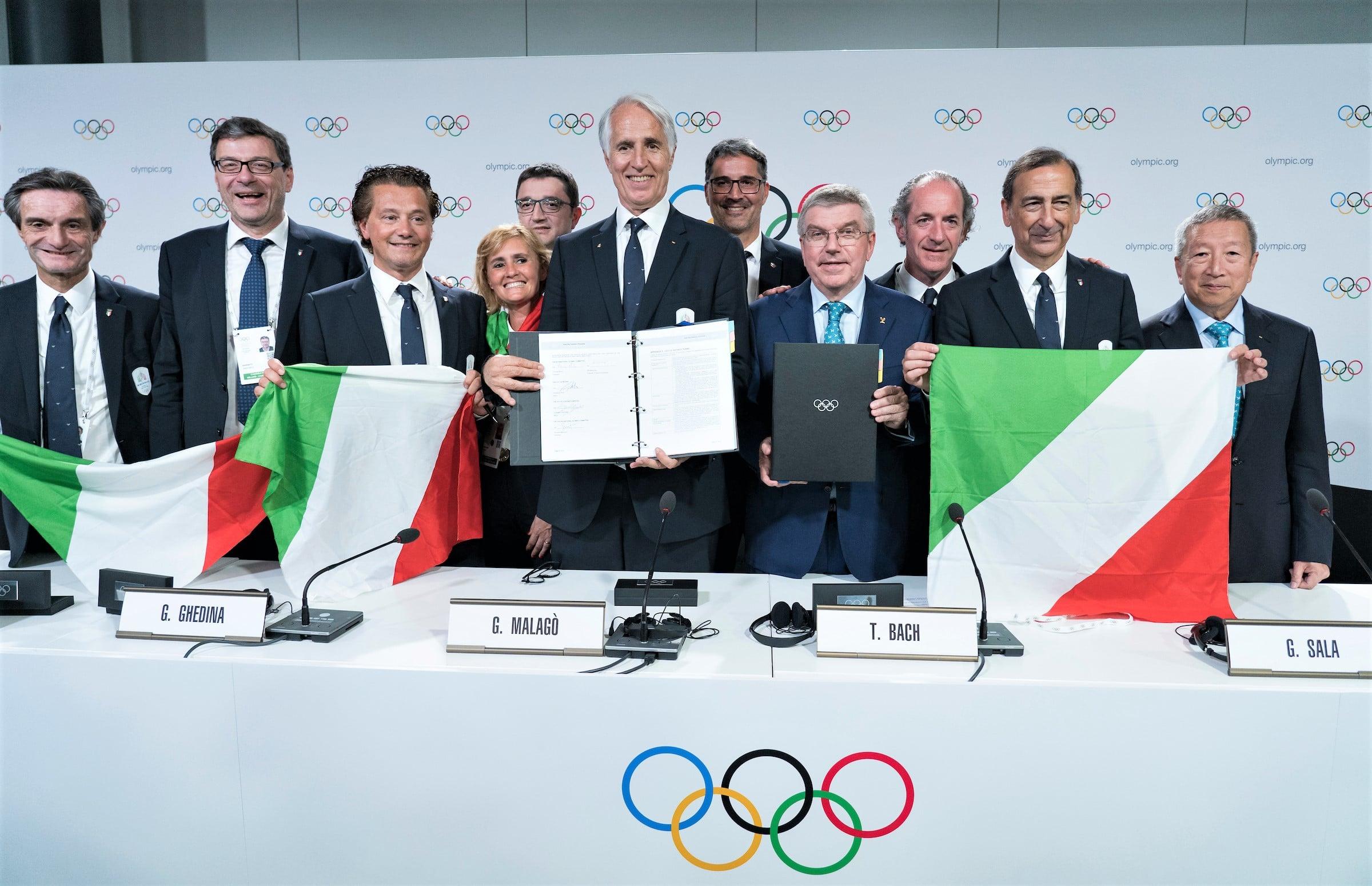 Milán y Cortina d'Ampezzo JJ.OO 2026