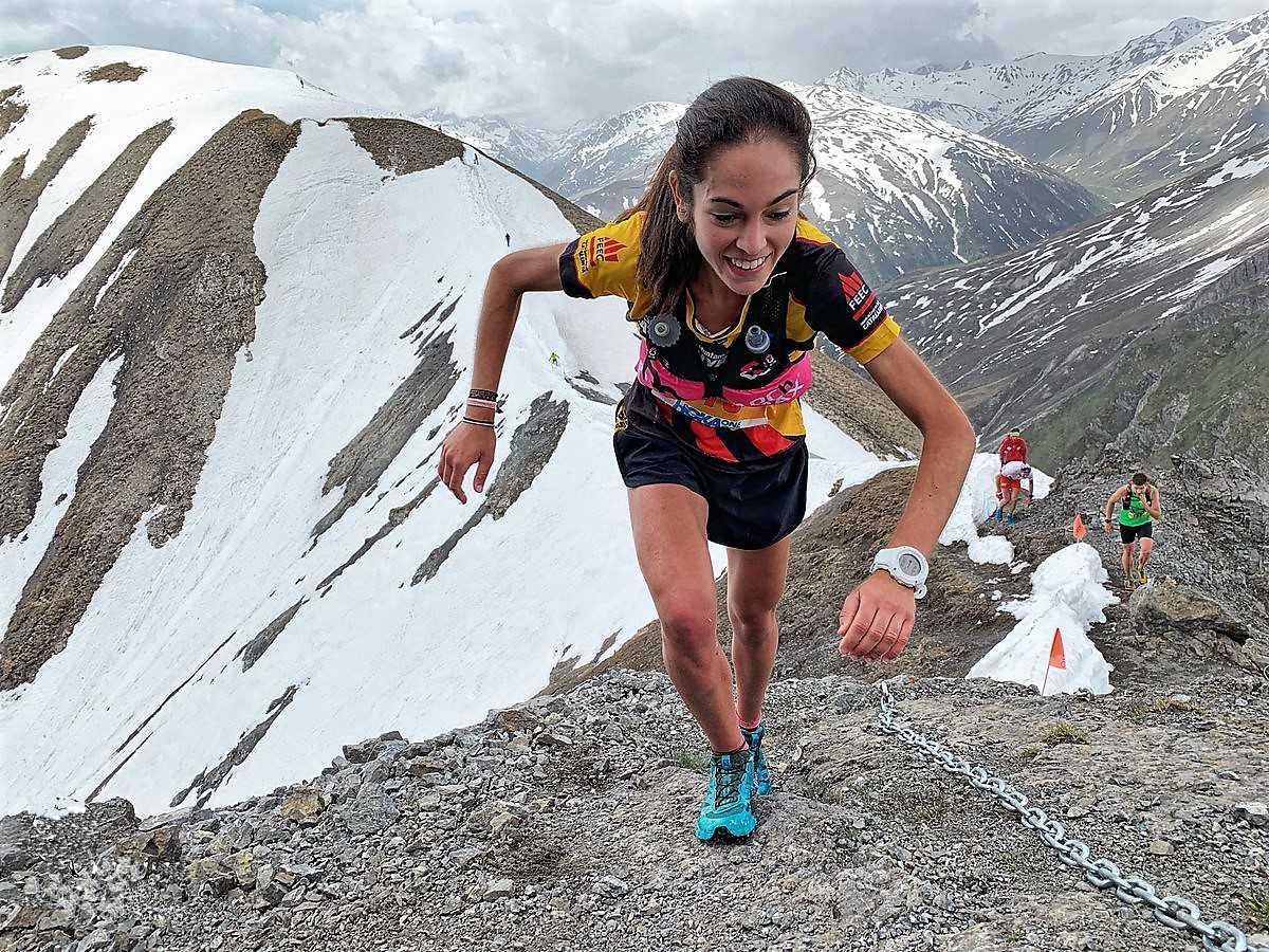 Gisela Carrión Livigno Skymarathon 2019