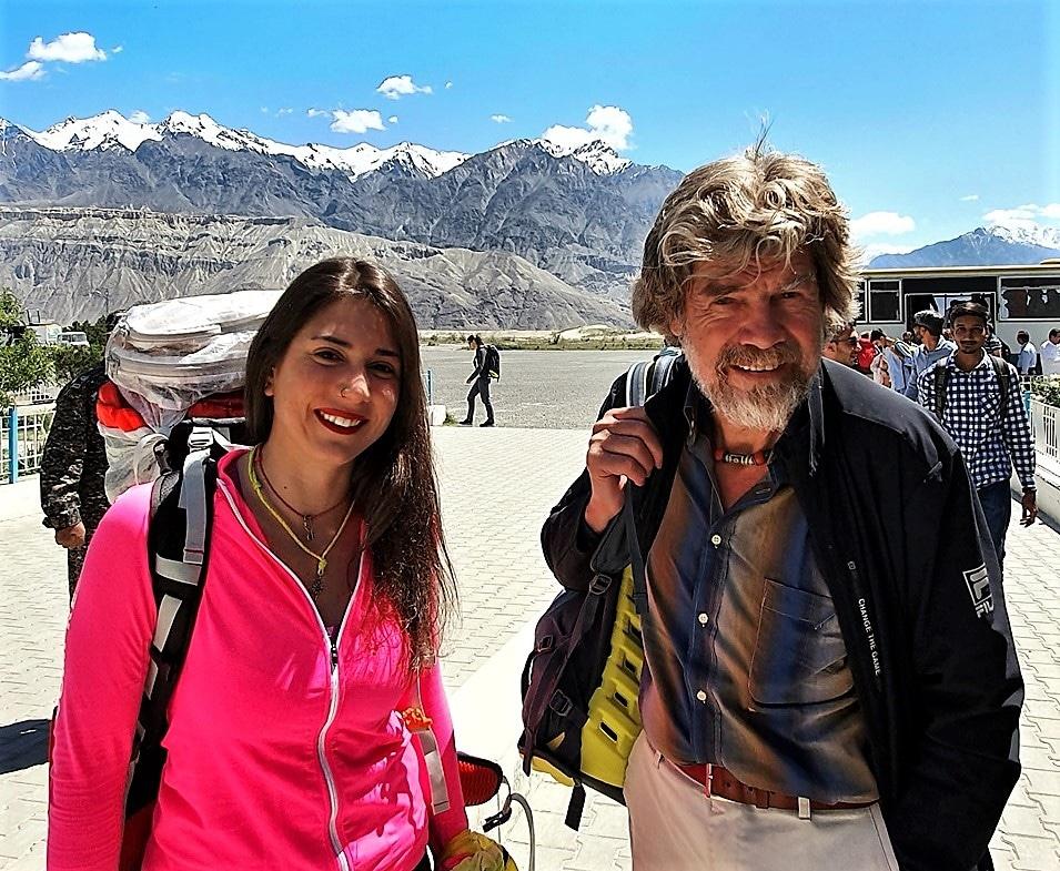 Reinhold Messner Stefi Troguet