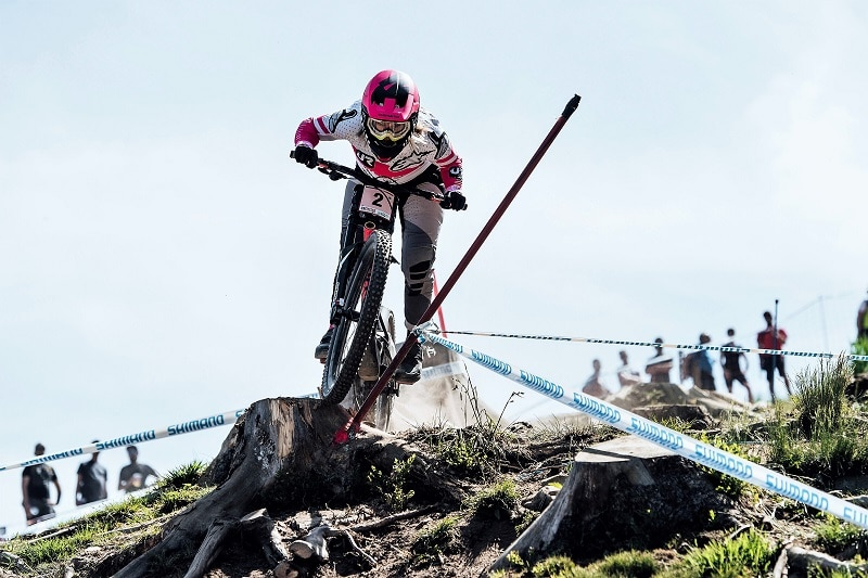 Tracey Hannah Copa del Mundo UCI MTB World Cup