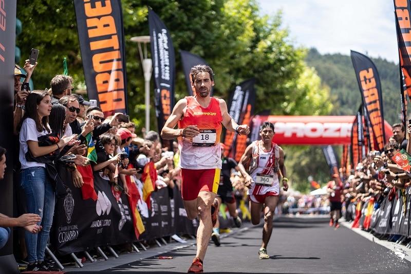 Luis Alberto Hernando Mundial de la IAAF trail runing.