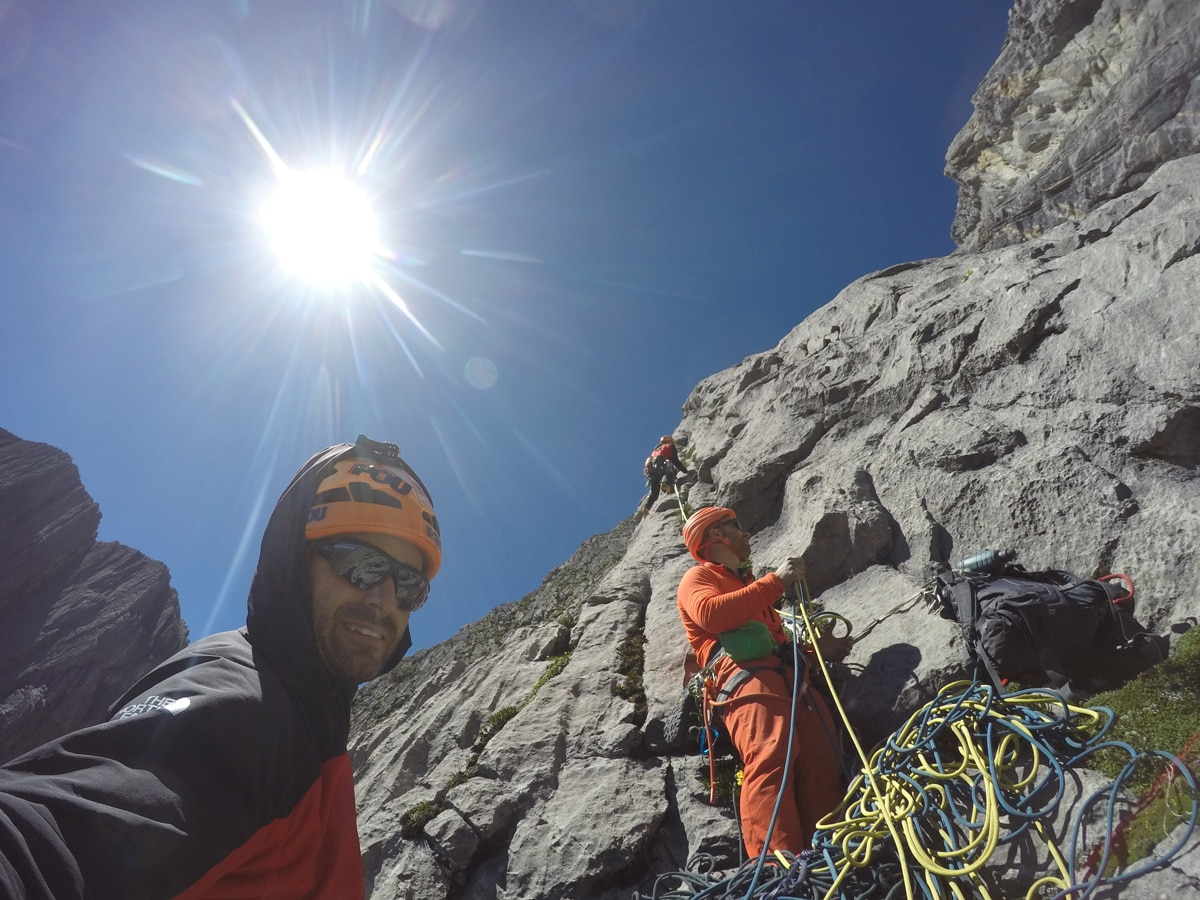 Eneko Iker Pou Manu Ponce Cerro Tornillo Cordillera Blanca Andes Perú