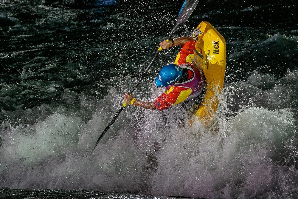 Dane Jackson kayak freestyle
