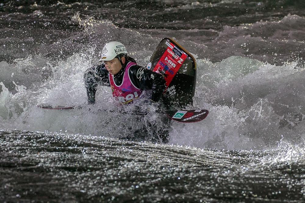 Hitomi Takaku Mundial kayak freestyle