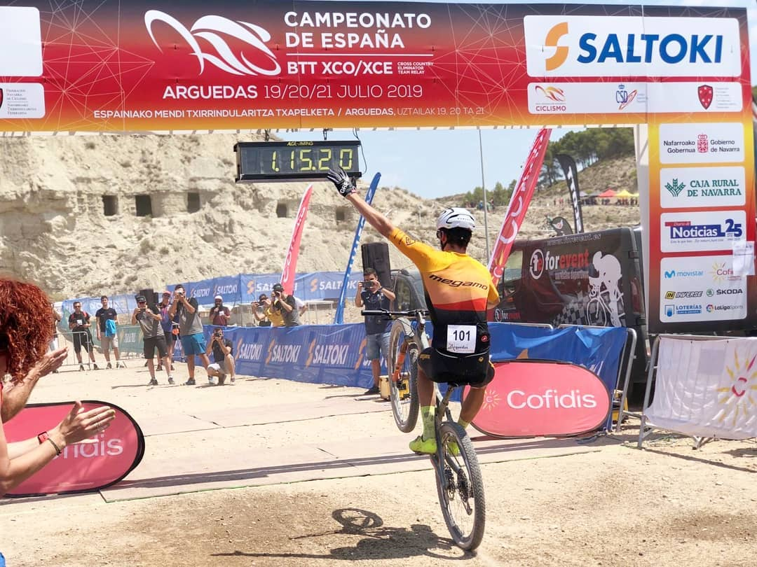 Jofre Cullell Campeonato de España XCO