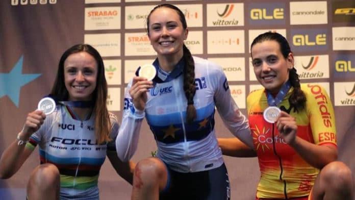 Magda Durán XC Eliminator del Europeo de Brno