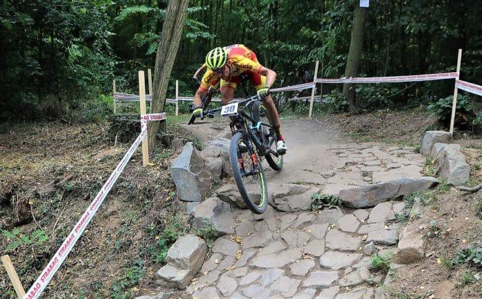 Pablo Rodrígez Europeo de bicicleta de montaña