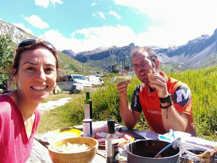 Ragna Debats Pere Aurell UTMB Mont Blanc