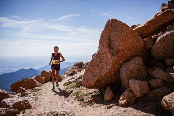 Eli Gordón Pikes Peak Marathon