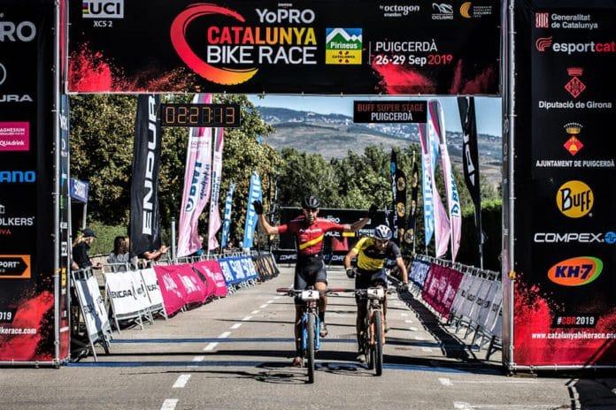 David Valero Nicholas Pettinà Catalunya Bike Race