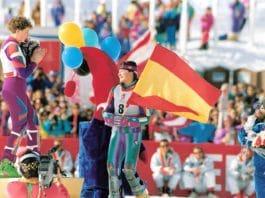 esquiadora madileña
